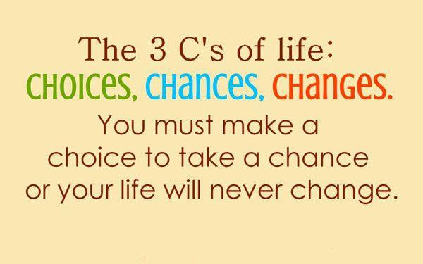 choices the three C