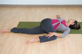 Apanasana supine twist
