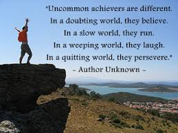 perseverance Author Unknown