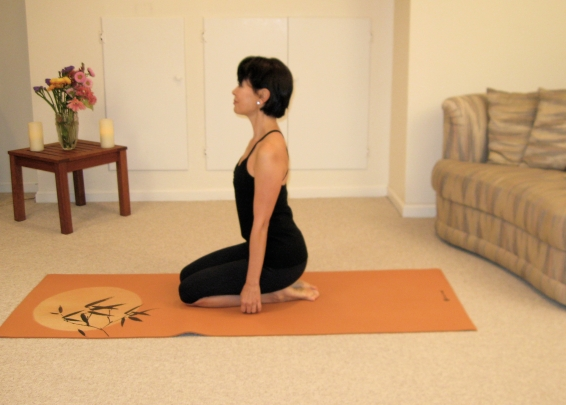 Japanese sitting position