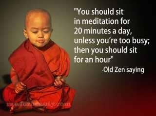 Old zen saying