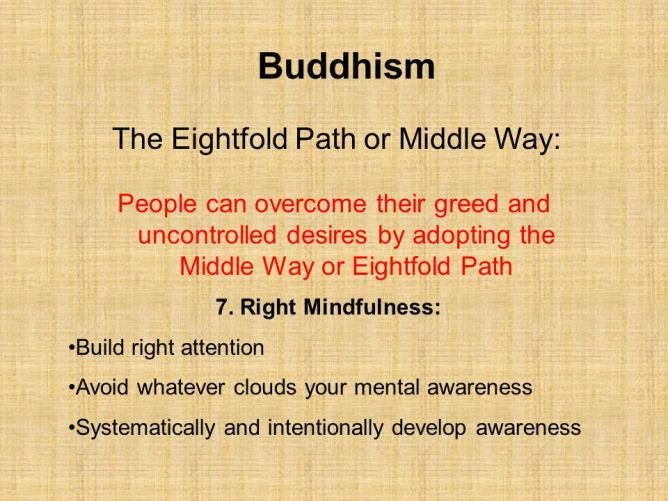 right-mindfulness