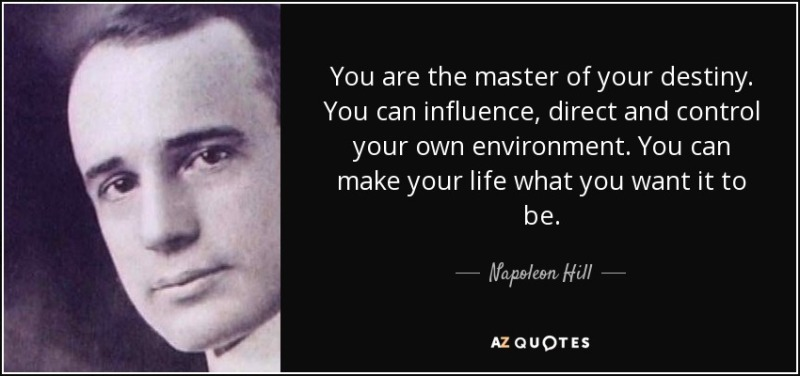Napoleon Hill Destiny