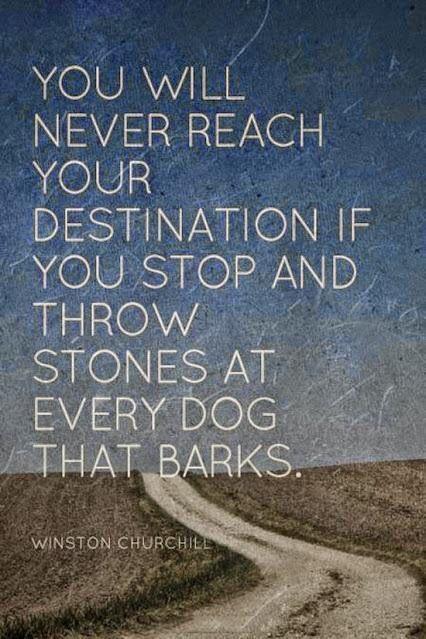 churchill - throwing stones