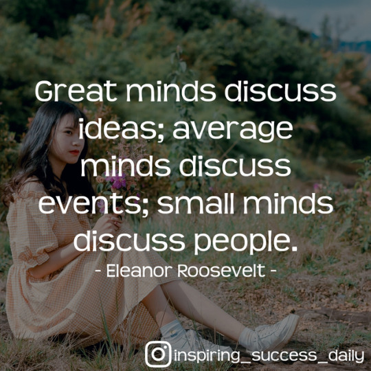 eleanor roosevelt - great minds