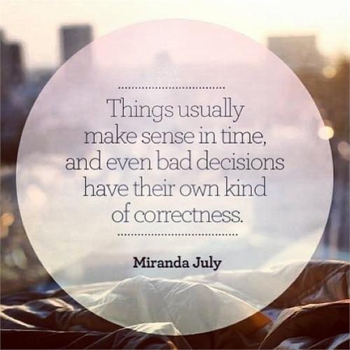 miranda july it makes sense