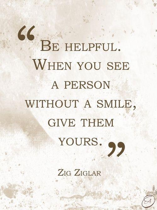 zig zigler - give then your smile