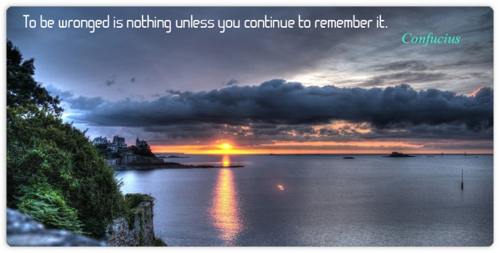 Confucius to be wronged is nothing
