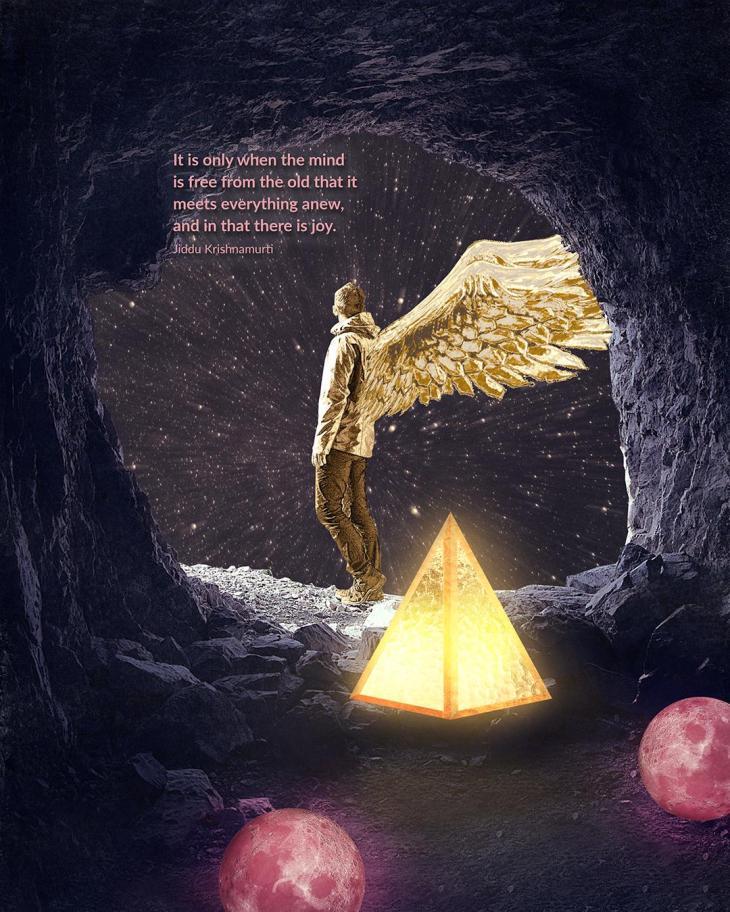 Jiddu Krishnamurti - It is only when the mind is free