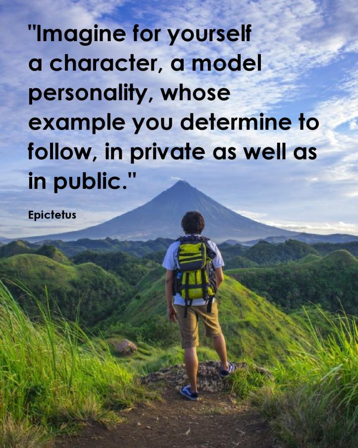 Epictetus imagine yourself